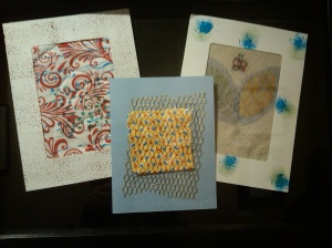 These represent the kind of cards I make. No two are ever alike.