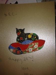 Cat card 1
