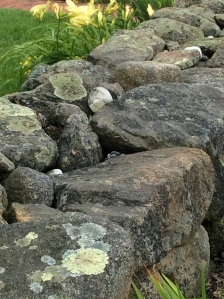 And I love stone walls.