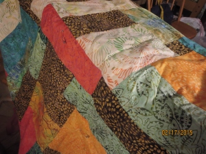 I am completely blanking on the name of these; I believe these are Tonga Batiks.