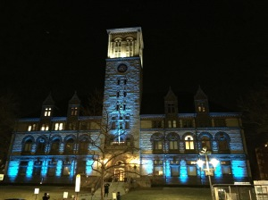 City Hall Blue